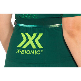 X-Bionic Twyce G2 Maillot de cyclisme Manches courtes Zip Femme, pine green/amazonas green